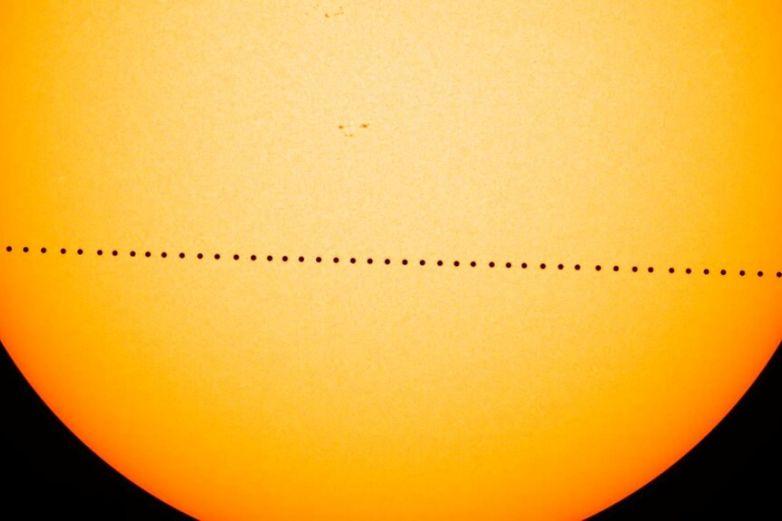Ofrecerá Mercurioraro espectáculo: desfilar frente al Sol