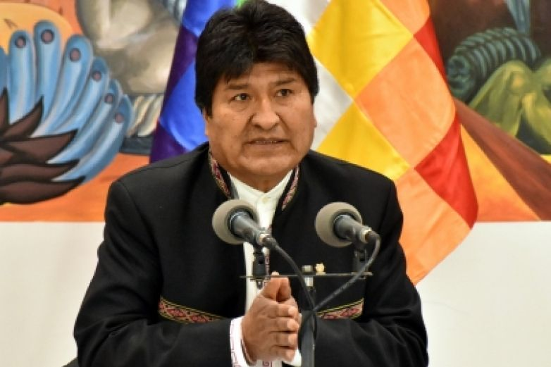 Descarta Evo Morales renuncia, pide apoyo a seguidores