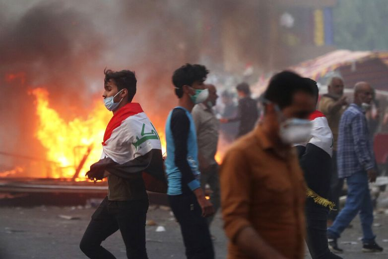 Matan a cuatro manifestantes en Bagdad