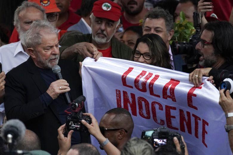 Liberación de Lula anima a la izquierda y enoja a la derecha