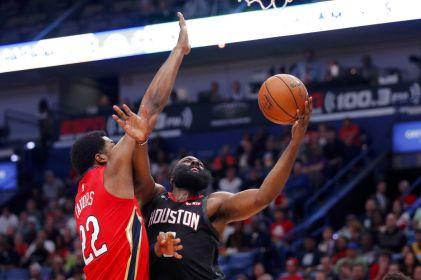 Harden logra 39 puntos; Rockets se imponen a Pelicans
