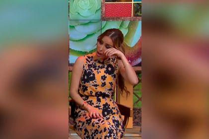 Cynthia Rodríguez termina en el piso y al borde del llanto tras tortura en 'VLA'