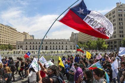 Rechaza oposiciónanuncio sobre nueva Constitución en Chile
