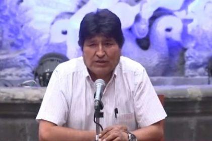 Acusa Morales intervención de Israel en Bolivia