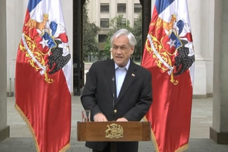 Admite Piñera uso excesivo de la fuerza en protestas