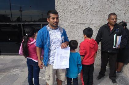 Hombre maltratado fue demandado por custodia de sus hijos