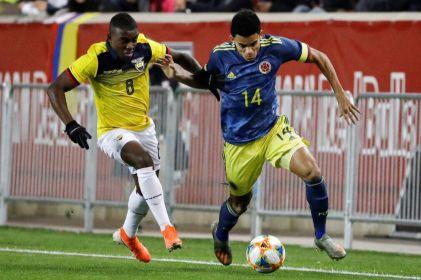 Colombia gana a Ecuador con gol de Mateus