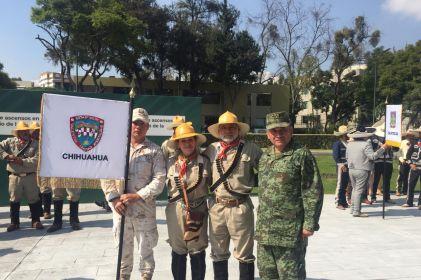 Listos jinetes chihuahuenses para desfilar en CDMX
