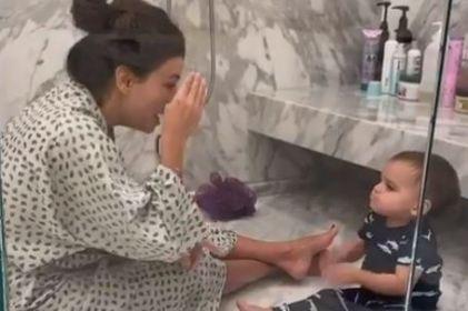 'Son tan dulces': Eva Longoria enternece redes al cantar con su hijo