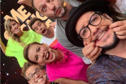 Ingrid Coronado reaparece en Televisa y deleita con grandes atributos