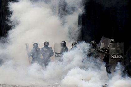 Decretan toque de queda en tres localidades de Bogotá