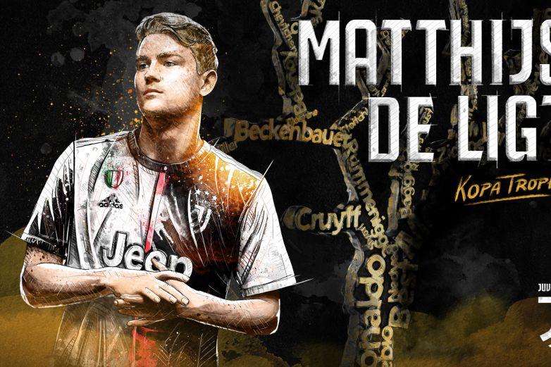 Matthijs de Ligt recibe el Trofeo Kopa 2019