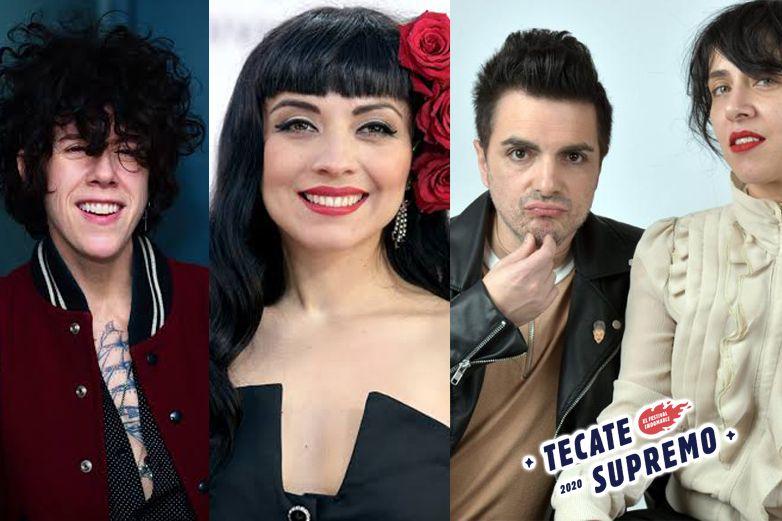 LP, Mon Laferte y Miranda encabezan line up del Tecate Supremo 2020