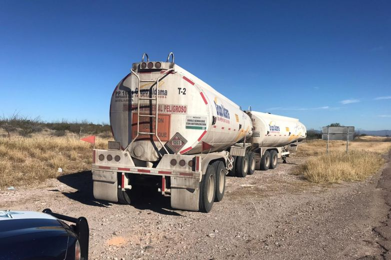 Roban pipas de gasolina en Chihuahua