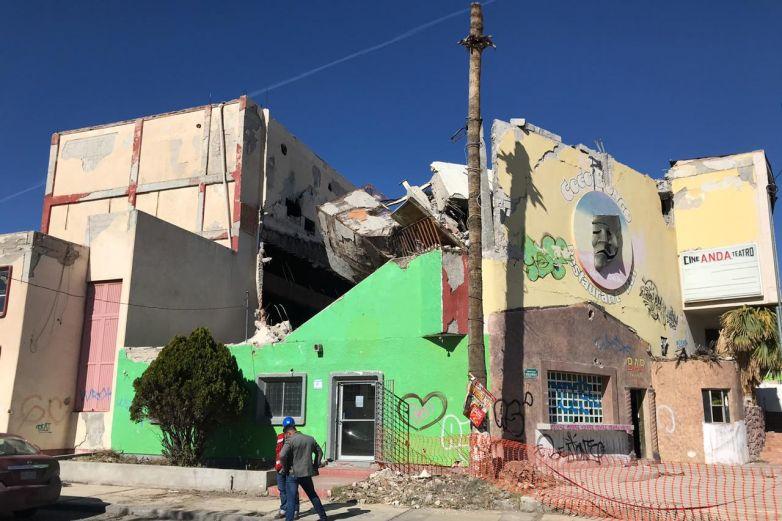 Sin avance demolición del teatro y cine de la ANDA