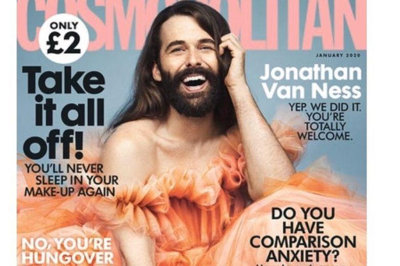 Cosmopolitan UK elige a Jonathan Van Ness para su portada
