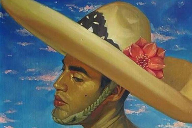 Artista saca el lado femenino de los héroes históricos mexicanos