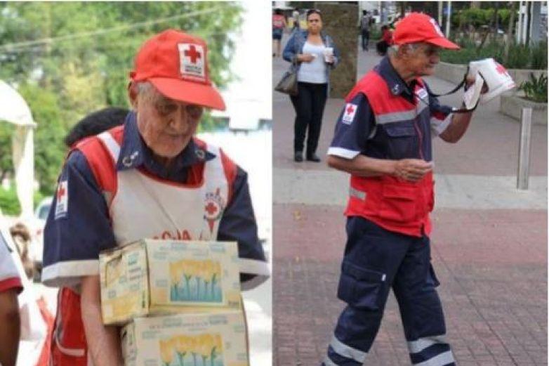 Muere el voluntario más grande del 19-S a los 92 años