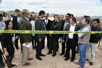 Supervisan construcción de puente que conectará avenidas al oriente de la ciudad