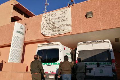 Se van a paro choferes de ambulancias de clínica 6 del IMSS