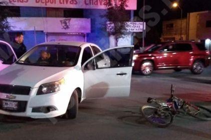 Atropellan a ciclista en en Centro