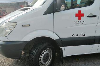 Empleados de APTIV donan llantas para ambulancias de Cruz Roja