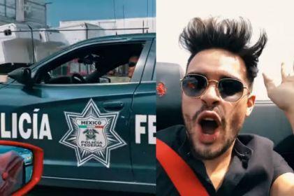 YouTuber arma arrancones y se burla de policías