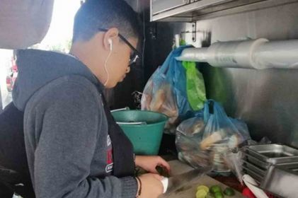 Niño trabajó como taquero un año para ver a Slipknot