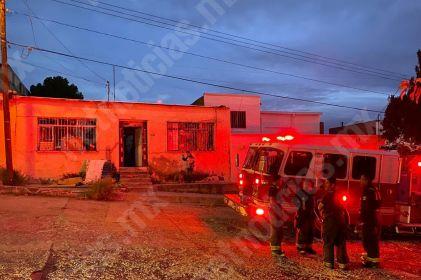 'Corto' provoca incendio en vivienda