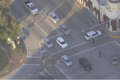Persecución en Florida termina en tiroteo