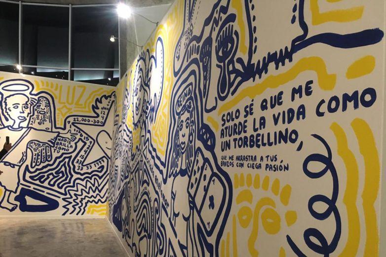 Inauguran mural 'Ciencia del Destino'