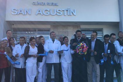 Estrenan clínica en San Agustín