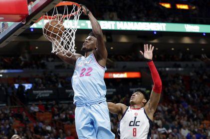 Butler anota 28 puntos y Heat se impone 112-103 a Wizards