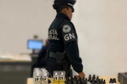 Decomisan en aeropuerto de Chihuahua crema y aceite de marihuana