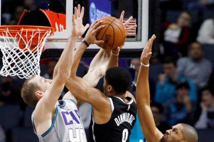 Con 22 puntos de Harris, Nets se imponen 111-104 a Hornets