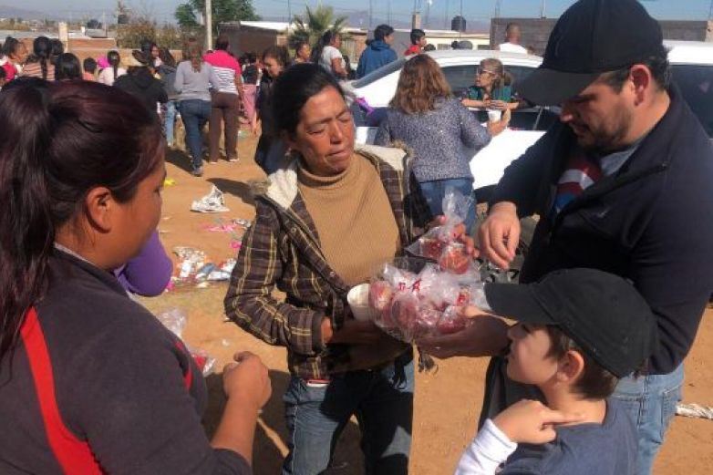 Organizan posada a niños de escasos recursos en Chihuahua