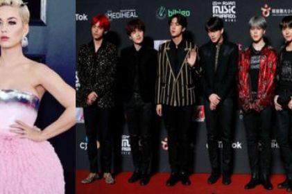 Katy Perry se burla de fanáticos de BTS y es atacada en redes
