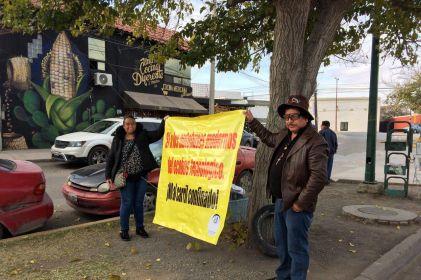 Protestan contra segunda ruta del Ecobús