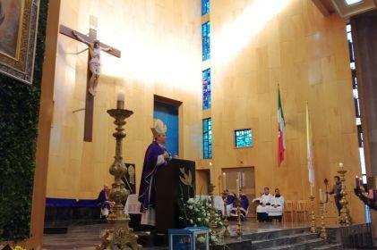 Celebran con misa 360 de la fundación de la Misión de Guadalupe