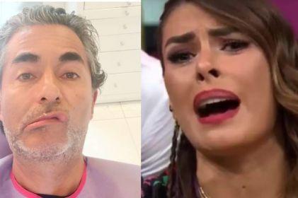 Raúl Araiza alburea a Galilea Montijo en pleno programa en vivo