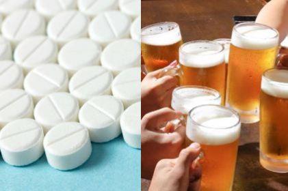 Mezclar alcohol con paracetamol trae riesgos para tu salud