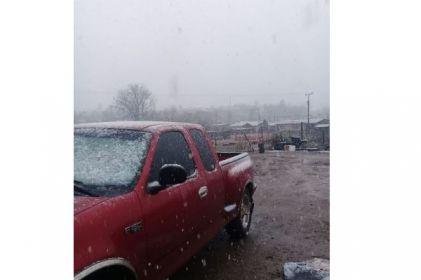 Reportan nevada en Casas Grandes y Buenaventura