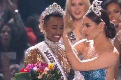 Miss Universo sudafricana se muestra al natural en Instagram