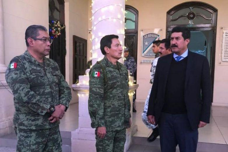 Da Gobernador bienvenida a nuevo comandante de la XI Región Militar