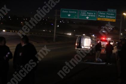 Hombre muere atropellado en bulevar Independencia