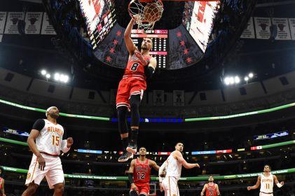 Bulls aplastan 136-102 a los Hawks con 35 puntos de LaVine