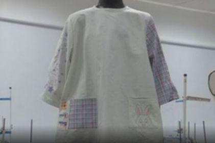 Pijama regenera la piel de los niños quemados en Perú