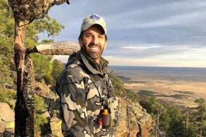 Caza hijo de Trump animal en peligro de extinción