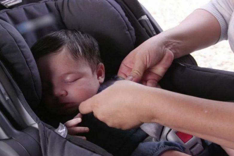 Asegúrate de que el asiento de tu bebé esté bien instalado