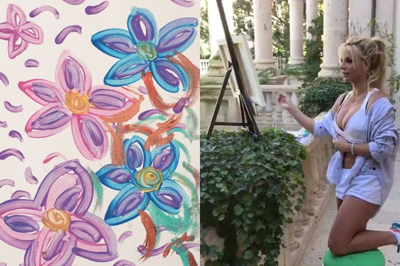 Britney Spears debutará como pintora en Francia